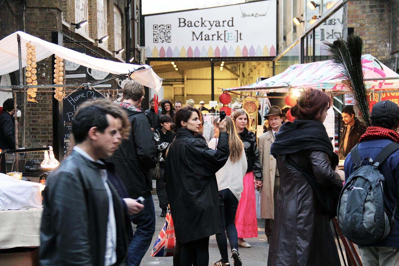 Tea Rooms Market Brick Lane