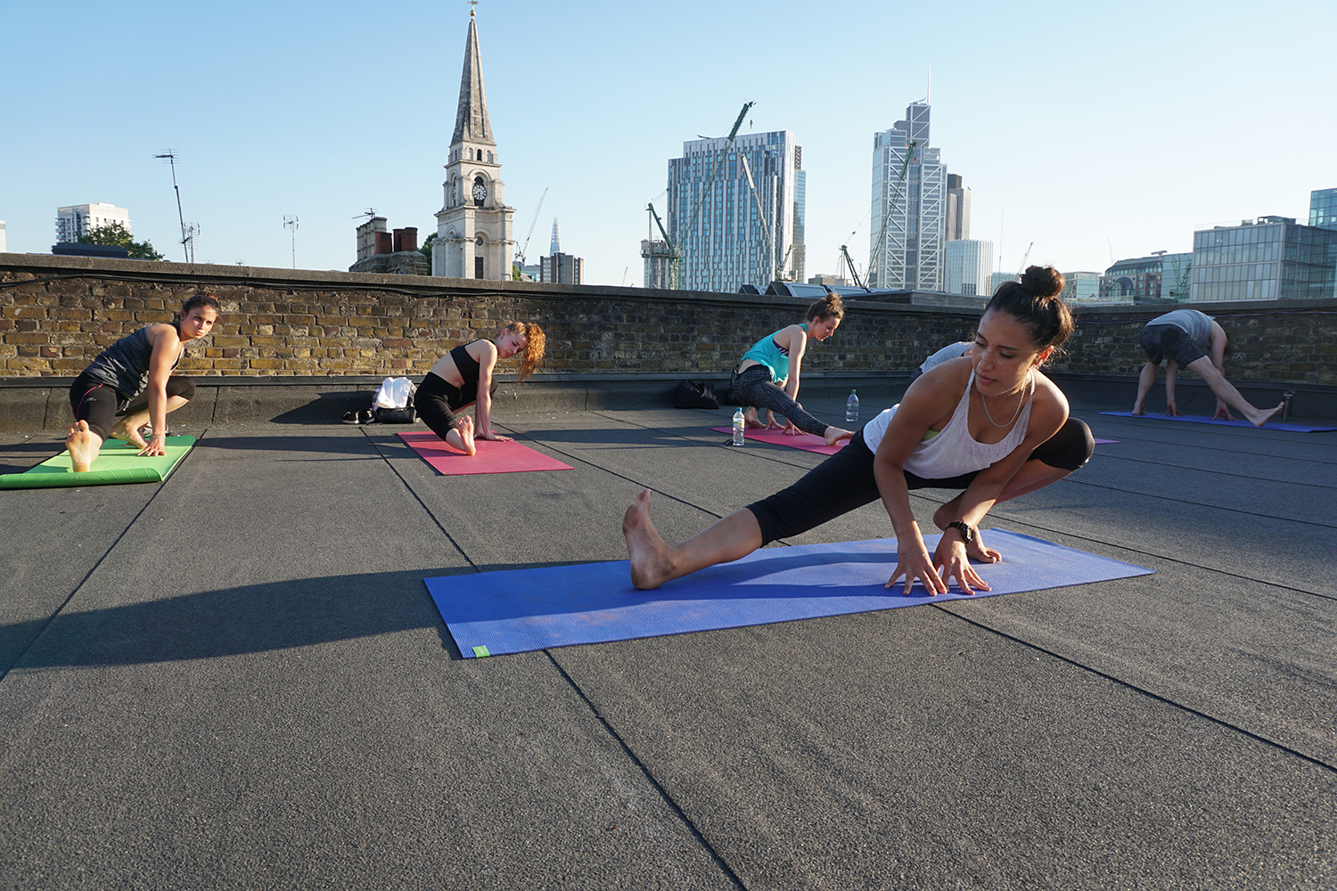 Fat Buddah Yoga, F Block Roof, Event Space, Skyline, Roof top