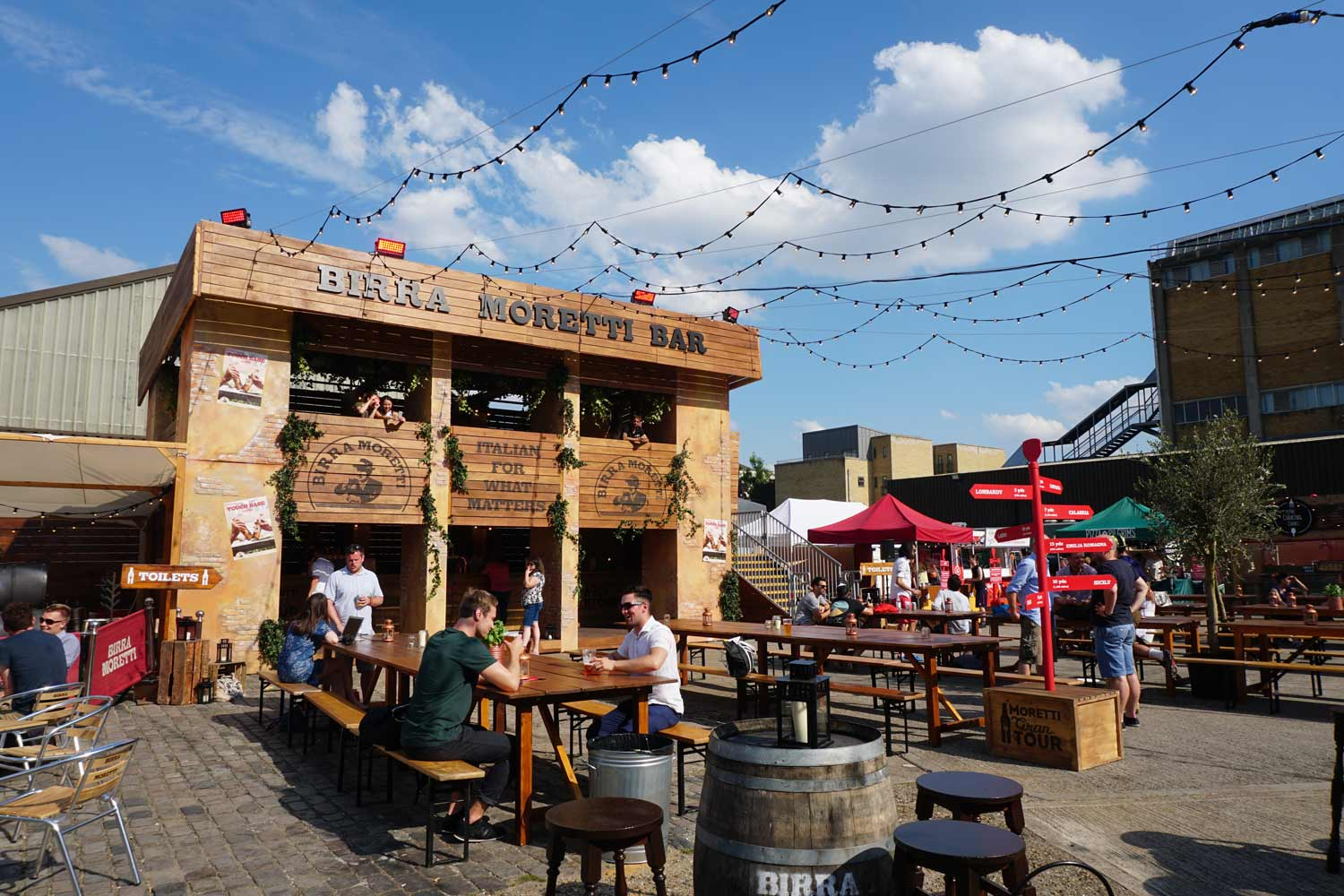 Experiential Activity, Food,  Old Truman Brewery, Brick Lane Yard, East London, Shoreditch
