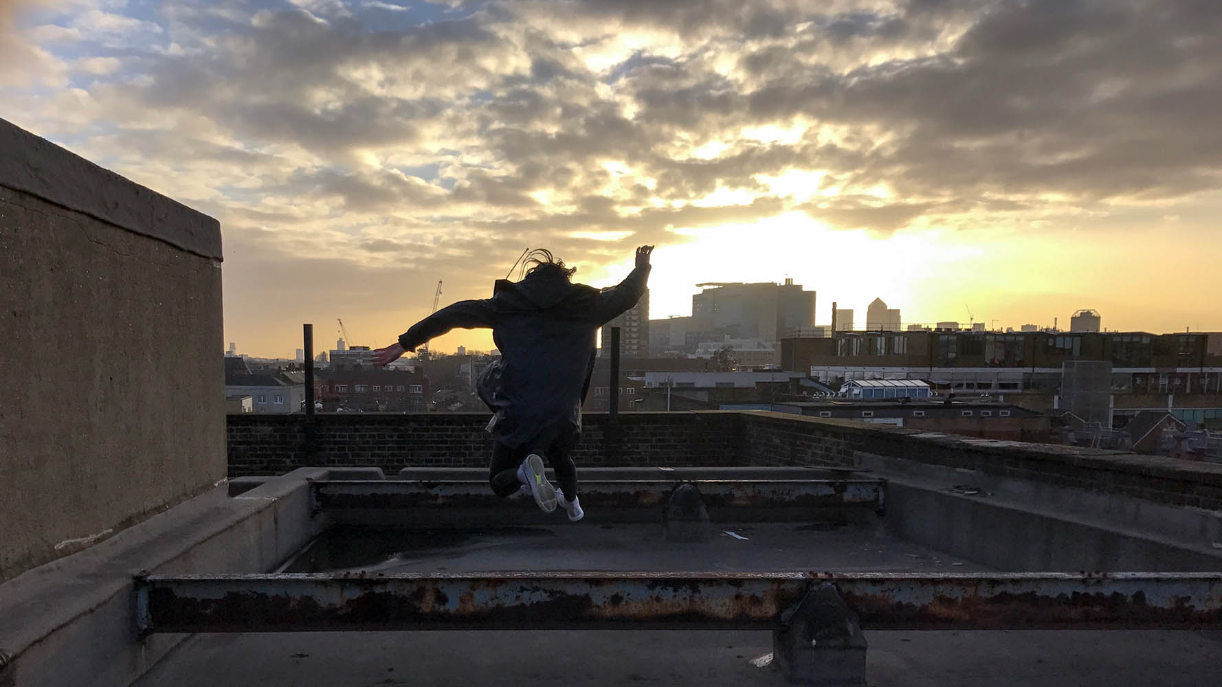 F Block Roof, Filming and Photography locations, Skyline, Roof top, East London